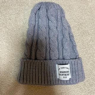 ウィゴー(WEGO)のWEGO ウィゴー ニット帽 ニットキャップ ニットぼう ニット キャップ(ニット帽/ビーニー)