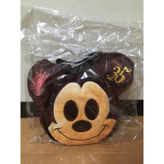 ミッキーマウス(ミッキーマウス)のミッキーパン スーベニアバッグ ディズニー35周年 未使用品(キャラクターグッズ)