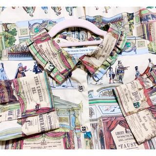ジェーンマープル(JaneMarple)のJane Marple Paper theater シャツ(シャツ/ブラウス(長袖/七分))