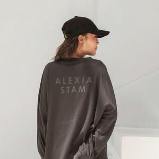 ALEXIA STAM - alexiastam ロングTシャツ