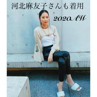 ZARA - *2020AW*ZARA コントラストセータートップス 河北麻友子さん