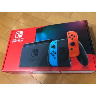 Nintendo Switch - 【新品未開封】Nintendo Switch ネオンブルー/ネオンレッド