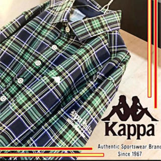 Kappa - 【韓国✨】kappa タータン チェックシャツ 銀ボタン ネルシャツ シャツ