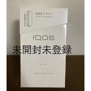 IQOS - 【未開封未登録】IQOS3 DUO アイコス3 ウォームホワイト