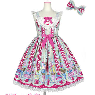 Angelic Pretty - Angelic Pretty Ice Cream Parlor スペシャルセット