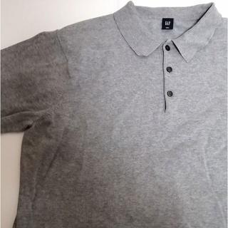ギャップ(GAP)のGAP ギャップ ポロシャツ グレー XL ビンテージ(ポロシャツ)