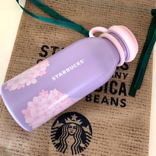 スターバックスコーヒー(Starbucks Coffee)の韓国スターバックス 2020 さくら SS フローティングウォーターボトル(水筒)