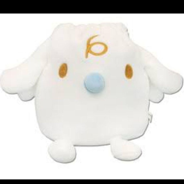 シナモロール(シナモロール)のシナモロール みるく 巾着 エンタメ/ホビーのおもちゃ/ぬいぐるみ(キャラクターグッズ)の商品写真