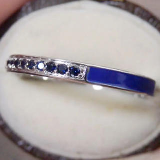 即購入OK【BR163】ブルーの3WAYデザインシルバーリング指輪大きいサイズ(リング(指輪))
