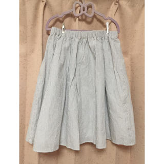 テチチ(Techichi)のTe chichi ストライプスカート(ひざ丈スカート)