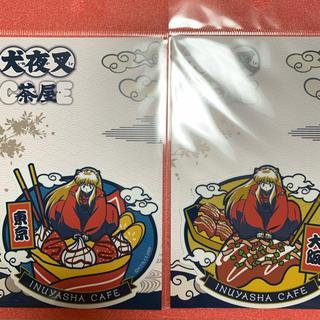最安!犬夜叉カフェ限定【ご当地ステッカー2枚セット 東京+大阪】(キャラクターグッズ)
