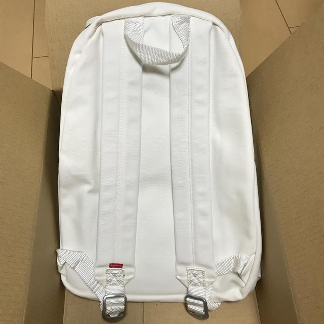 Supreme(シュプリーム)のsupreme canvas backpack white シュプリーム バッグ レディースのバッグ(リュック/バックパック)の商品写真