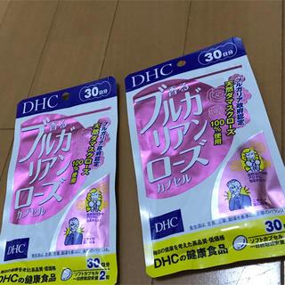 ディーエイチシー(DHC)のDHC 香るブルガリアンローズ カプセル 30日分 2袋セット(口臭防止/エチケット用品)