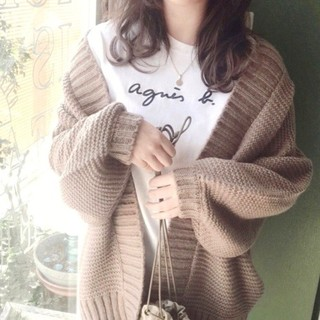 アニエスベー(agnes b.)の【Agnes b】アニエスベー★Tシャツ・Lサイズ★レディース★ホワイト(Tシャツ(半袖/袖なし))