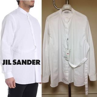 Jil Sander - 新品■40■18aw JIL SANDER■マンダリンカラーシャツ■白■9397