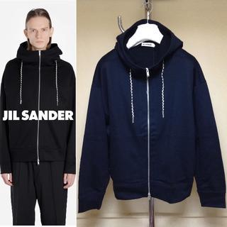 ジルサンダー(Jil Sander)の新品■L■19ss JIL SANDER■ハイネックスウェットパーカー■9277(スウェット)