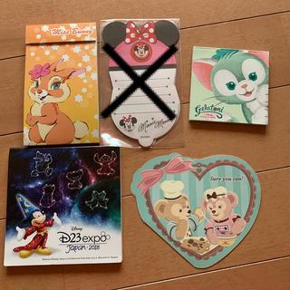 Disney - ディズニーメモ♡セット