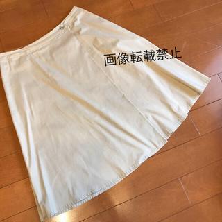 ニジュウサンク(23区)の23区 44大きいサイズ スカート クリーニング済(ひざ丈スカート)