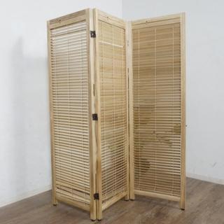 NINA様専用【新品ゲリラSALE】天然木 桐材ルーバースクリーン 間仕切り(ブラインド)