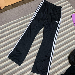 adidas - 新品 アディダス ジャージ パンツ 黒M レディース