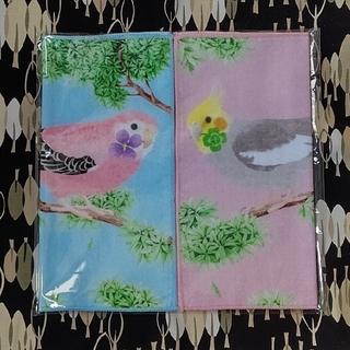 フェリシモ(FELISSIMO)のタオルハンカチ 鳥(日用品/生活雑貨)
