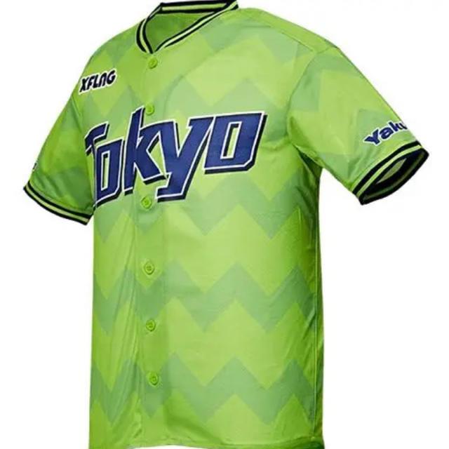 東京ヤクルトスワローズ(トウキョウヤクルトスワローズ)の東京ヤクルトスワローズ ユニフォーム スポーツ/アウトドアの野球(ウェア)の商品写真
