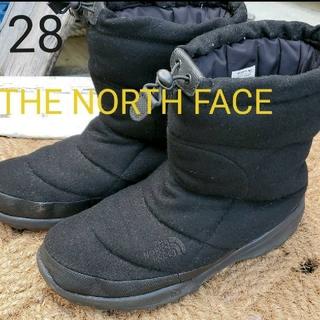 THE NORTH FACE - ノースフェイス ヌプシ ブーツ 28 黒 メンズ THE NORTH FACE