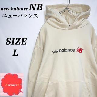 ニューバランス(New Balance)の【希少】ニューバランス パーカー ストリート  シンプルデザイン(パーカー)