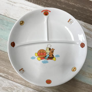 アンパンマン(アンパンマン)の新品未使用*アンパンマン子供用プレート皿(食器)