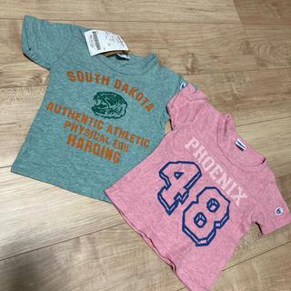 チャンピオン(Champion)のチャンピオン Tシャツ 2枚セット 100㎝(Tシャツ/カットソー)