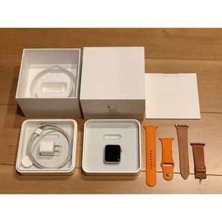 アップルウォッチ(Apple Watch)のApple Watch HERMES アップルウォッチ 42mm series2(腕時計(デジタル))