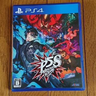 PlayStation4 - 訳あり ペルソナ5 スクランブル ザ ファントム ストライカーズ PS4