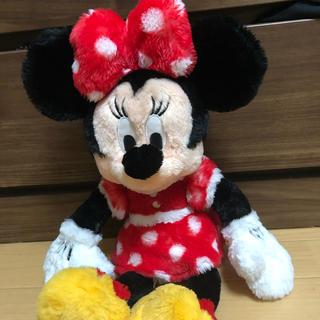 ディズニー(Disney)のミニーマウス ぬいぐるみ フラッフィープラッシー (ぬいぐるみ)