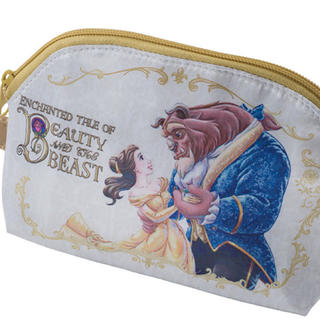 Disney - ディズニー 美女と野獣 スーベニア  ポーチ