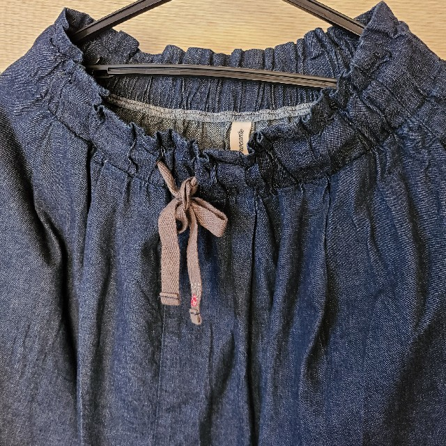 nest Robe(ネストローブ)のBrocante  デニムスカート レディースのスカート(ロングスカート)の商品写真