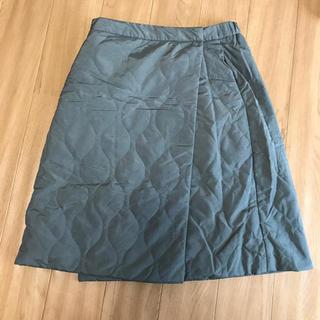 ユニクロ(UNIQLO)のUNIQLO ラップ 巻きスカート(ひざ丈スカート)
