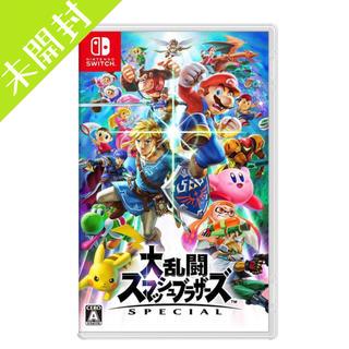 Nintendo Switch - 新品 大乱闘スマッシュブラザーズ SPECIAL Switch ソフト スマブラ