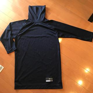 ザナックス(Xanax)の野球用アンダーシャツ ネイビー 紺色 七部袖 Lサイズ(ウェア)