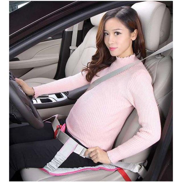 マタニティシートベルト 妊婦 妊娠 圧迫対策 ピンク //b3j キッズ/ベビー/マタニティのマタニティ(その他)の商品写真