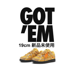 NIKE - Off-white Rubber Dunk PS 19cm 新品未使用