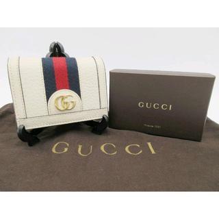 Gucci - 【✨GUCCI グッチ 二つ折り財布 シェリーライン✨】