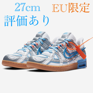 NIKE - ラバー ダンク NIKE X OFF WHITE AIR RUBBER DUNK