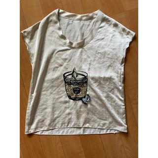 ティアンエクート(TIENS ecoute)のノースリーブカットソー(カットソー(半袖/袖なし))