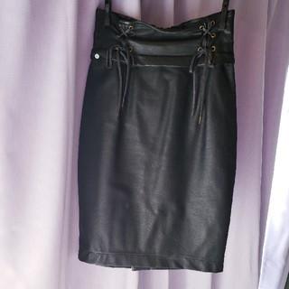 EATME - 【EATME】レザー編み上げタイトスカート