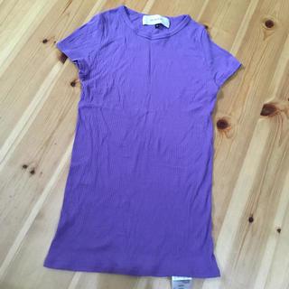 ルシェルブルー(LE CIEL BLEU)のリブ Tシャツ リステア(Tシャツ(半袖/袖なし))