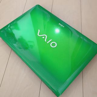 VAIO SSD ノートパソコン
