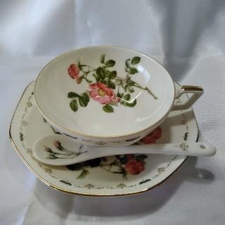 Marui Clay &Ceramicsティーカップ&ソーサー&スプーン