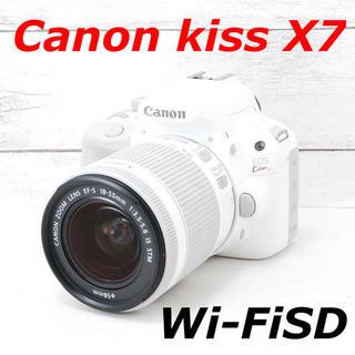 Canon - ❤️シャッター回数わずか96枚❤️スマホ転送❤️Canon kiss X7