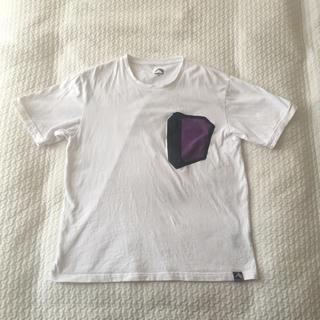 コットンビッグシルエット半袖Tシャツ Mサイズ ポケット フリーザカラー(Tシャツ/カットソー(半袖/袖なし))