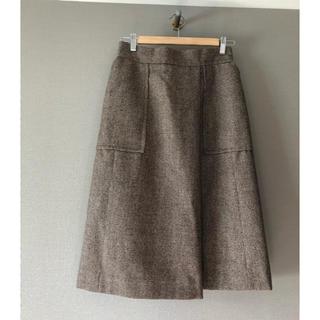 Drawer - 美品 cyclasシクラス ウールタックボックススカート